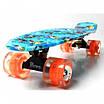Скейтборд, Пенни Борд Penny Board Nemo Светящиеся Колеса (Sd), фото 3