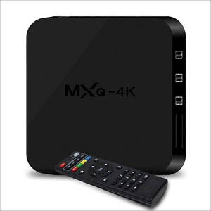 Смарт Tv Приставка Android Tv Box Mxq 4K Ultra Hd 1Gb/8Gb (Sf)