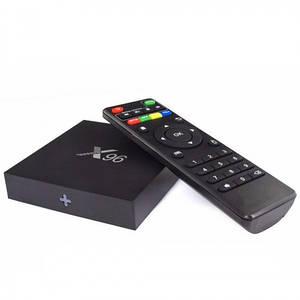 Смарт Тв Приставка Amlogic X96 Smart Tv Box Android 2Gb+16Gb (Sf)