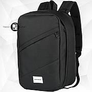 Рюкзак для ручной клади 40х20х25 Wascobags RW Черный (Wizz Air / Ryanair)