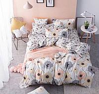 Комплект постельного белья евро ранфорс 100% хлопок