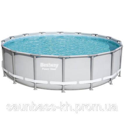 Каркасний басейн 56451 (488х122) з картриджних фільтрів