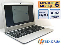 Нетбук Samsung Chromebook XE303C12 11.6 (1366x768)/  Samsung Exynos 5250 (2x1.7GHz)/  RAM 2Gb/  Flash 16Gb/  АКБ 5 ч. 13 мин./  Сост. 8/10 БУ