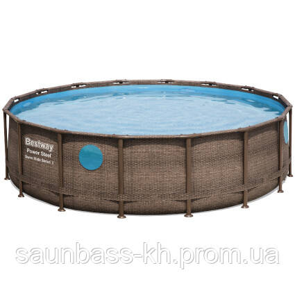 Каркасний басейн Ротанг 56725 (488х122) з картриджних фільтрів