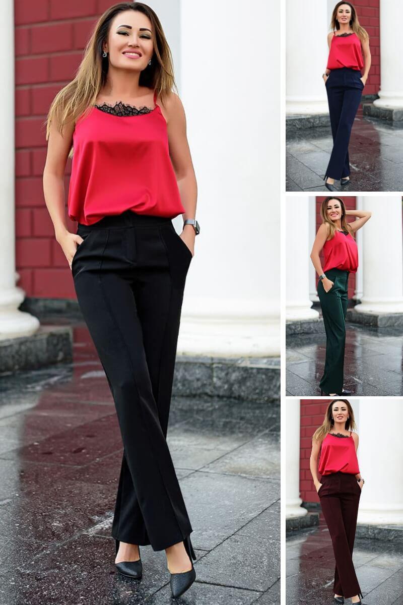 Женские брюки со стрелками Сью