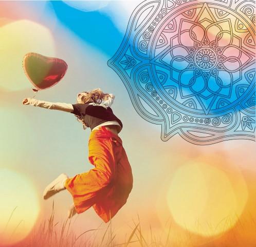 Раскраски мандал с Тибета