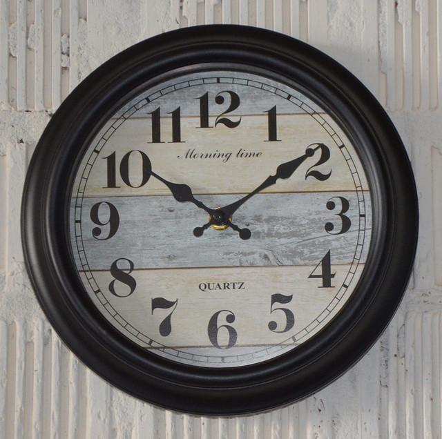 """Настенные часы """"Утреннее время"""" (24 см.)"""