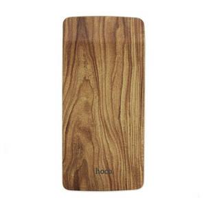 Умб Портативное Зарядное Устройство Power Bank Hoco J5 Wooden 8000 Mah С Принтом Темного Дерева (M1)