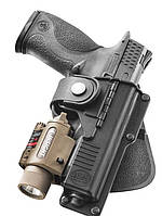 Кобура Fobus для Glock-19/23 с подствольным фонарем, поясной фиксатор (2370.17.64)