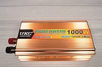 Преобразователь Напряжения (инвертор) UKC 12-220V - 1000W, фото 2