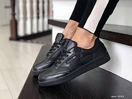 Подростковые,женские,кроссовки Reebok, черные