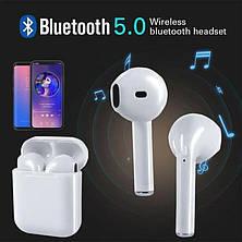 Беспроводные наушники i10 max TWS Bluetooth 5.0 с кейсом, фото 2