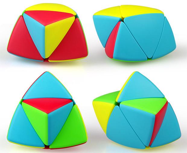 Мастер Пираморфикс 2х2 QiYi MoFangGe Color
