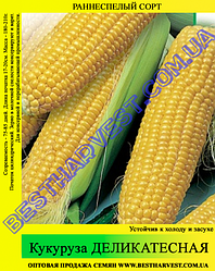 Семена кукурузы «Деликатесная» 1 кг