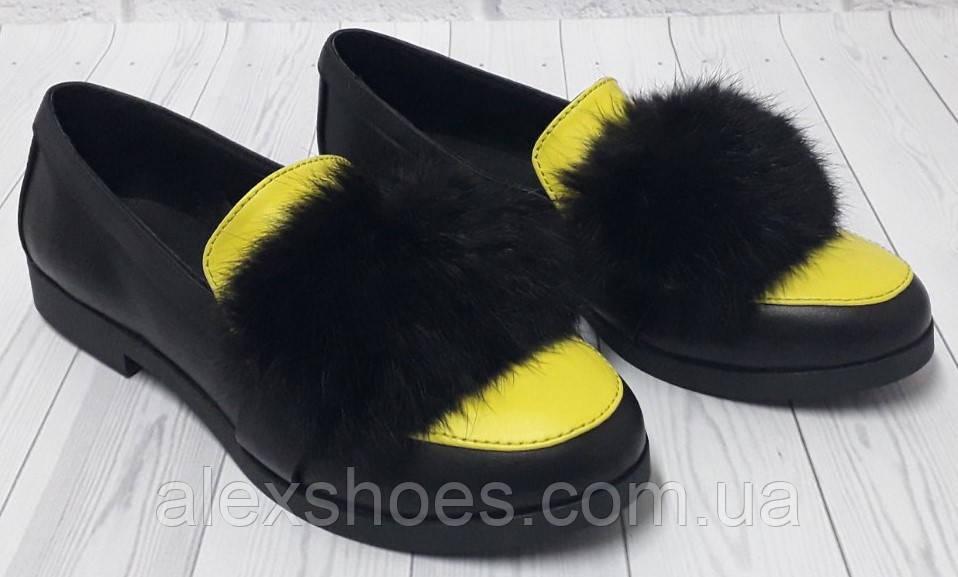 Туфли женские из натуральной кожи от производителя модель БФ6562