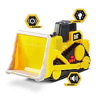 Бульдозер Кэт свет/звук CAT Construction Tough Machines Toy Bulldozer with Lights & Sounds, фото 1