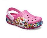 Kids' Crocs Fun Lab Paw Patrol™ Band Clog детские для девочек, фото 2