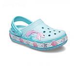 Kids' Crocs Fun Lab Mermaid Band Clog детские для девочек, фото 2