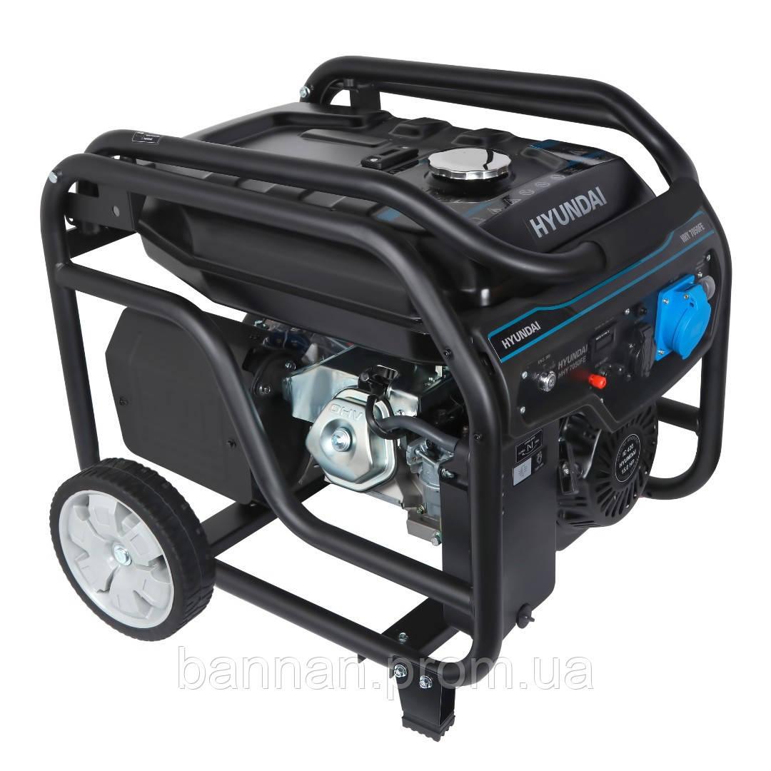 Бензиновый генератор HYUNDAI HHY 7050FЕ