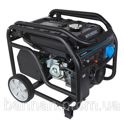Бензиновый генератор HYUNDAI HHY 7050FЕ, фото 2