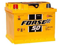 Автомобильный аккумулятор Forse 6СТ-50АЗ 50 Ач «+» слева