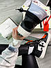 """Кроссовки Off-White Low 3.0 leather high top """"Black/White"""", фото 2"""