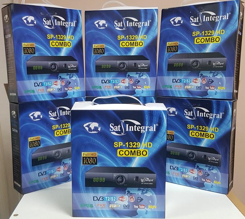Комбинированный MPEG4 ресивер Sat Integral SP-1329 HD COMBO DVB-T2/S2