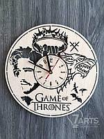 """Интерьерные настенные часы """"Игра престолов"""""""