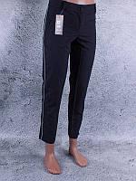 Классические женские брюки с лампасами