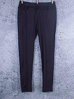 Лосины классические батальные с шлёвками для пояса чёрные