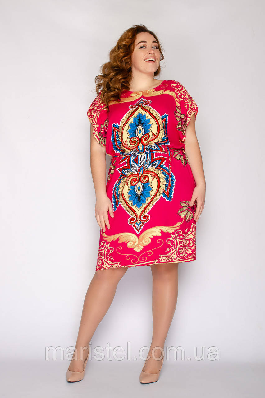Женское летнее платье 066-2