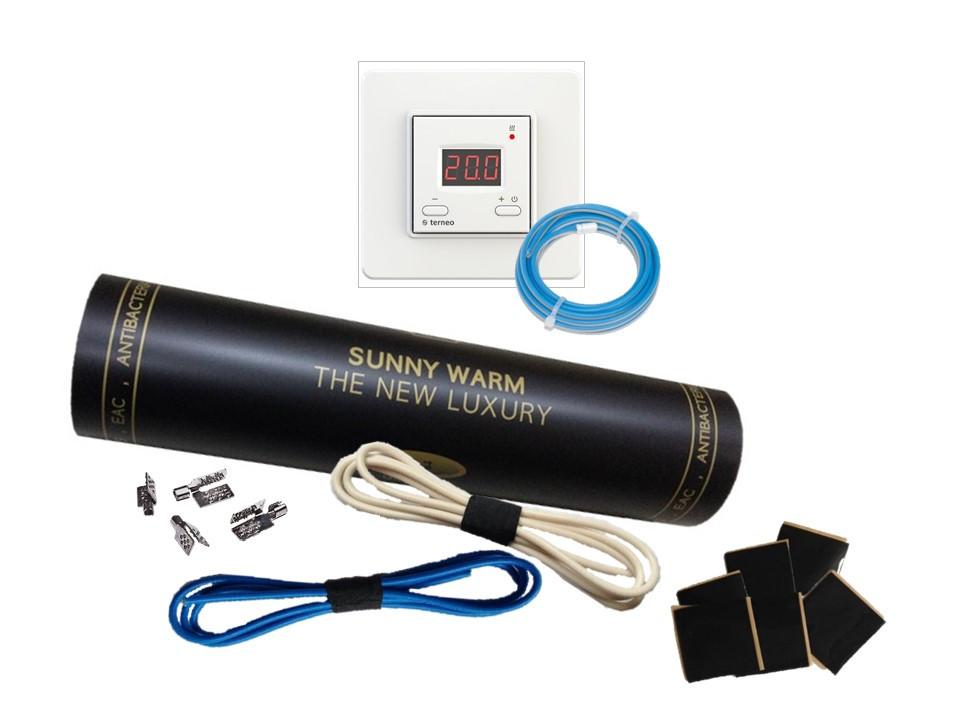Готовый комплект ST-10 (1м2) SUNNY WARM ( Премиум)