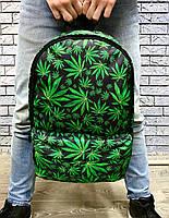 Спортивний рюкзак міський чоловічий жіночий з коноплею
