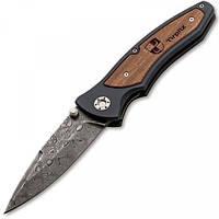 Карманный нож Boker Tirpitz-Damascus Wood (2373.08.58)