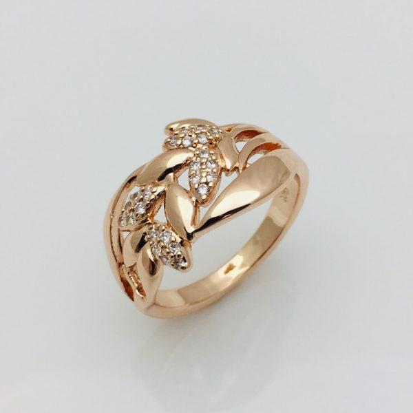 Кольцо 3202018-01, размер 16, 17, 18  ювелирная бижутерия