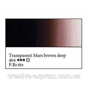 Фарба олійна, Марс коричневий темний прозорий, 46мл, МК, фото 2