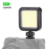 Накамерный свет Ulanzi VL100 LED мощность 4.5Вт 1200 мАч световой поток 1900 люкс светодиодный осветитель