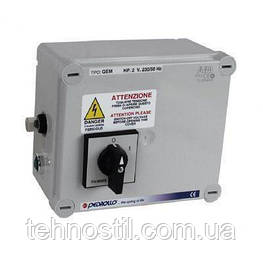 Pedrollo QEM 100 Пульт управления для скважинных насосов