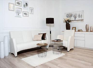Комплект мягкой мебели Синди белый (Embawood)