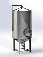Лагерный танк для пива на 300-4000 литров
