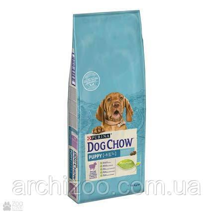 Dog Chow Puppy with Lamb 14 кг корм для щенков всех пород с ягненком, фото 2
