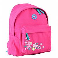 Городской молодежный рюкзак розовый для девушек YES ST-30 Fresh fuchsia для подростков (555420)