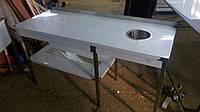 Стол производственный с отверстием для мусора 1300х600х850 - 2.864 грн.