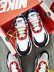 Мужские кроссовки Nike Air Max 270 React (разноцветные) 330PL, фото 4