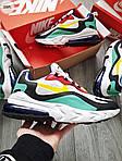 Мужские кроссовки Nike Air Max 270 React (разноцветные) 330PL, фото 6