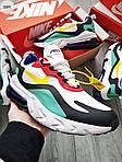 Мужские кроссовки Nike Air Max 270 React (разноцветные) 330PL, фото 7