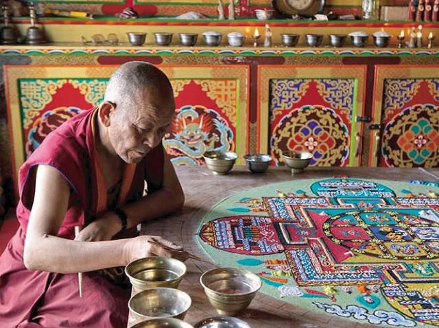Тибетские мандалы