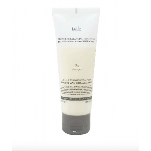 Увлажняющий шампунь без силиконов Lador moisture balancing shampoo Объем 100 мл