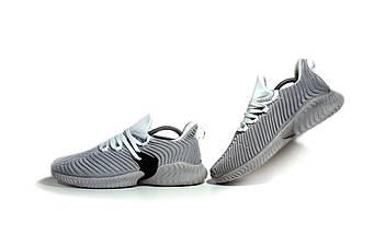 Мужские Кроссовки в стиле Adidas Alphabounce Instinct (без лого с брендом) - последний размер!