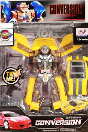 """Игрушка """"Робот Трансформер """"Conversion""""18 см, фото 2"""